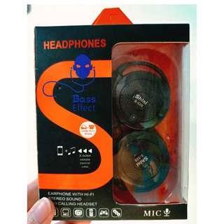 【現貨】HEADPHONES 耳掛式耳機 運動耳機 輕巧 方便攜帶 ☊