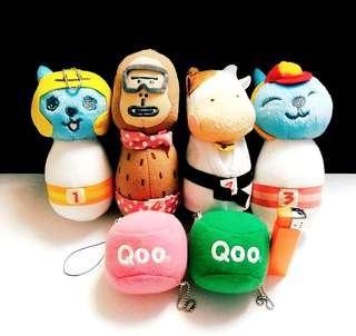 絕版:Qoo系列,全部$40,大窩口交收或自付郵費,不包險,順豐到付均可,恒生過數,最快交收優先,非誠勿擾