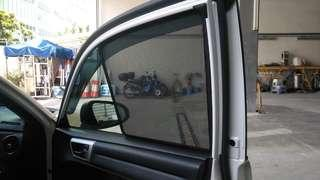 Quality Magnetic sunshades for 2012+ Toyota Axio