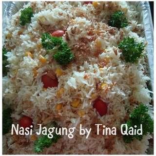 Nasi Jagung Set for Housewarming
