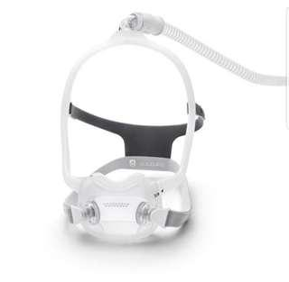 Respironics Dreamwear Full Face Cpap Mask Complete System Fit Pack