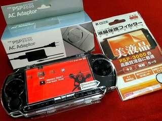 Piano Black PSP Slim 3000 4gb v6.20 Downloadable