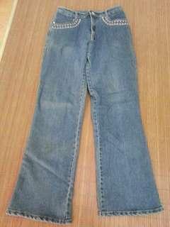 藍色牛仔褲(可換物)