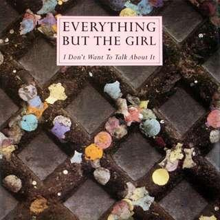 "vinyl LP 12"" Everything But The Girl ‎– I Don't Want To Talk About It 1988 UK Pressing ebtg"