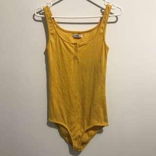Yellow Bodysuit