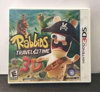 [3DS] Rabbids Travel Through Time 3D - US VERSION (美版)