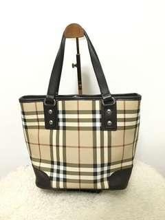 Burberry inspired handbag