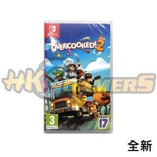 Switch Overcooked 中英 全新