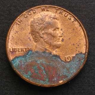 1975年 美國林肯一仙美金 硬幣一枚