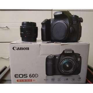 Canon 60D + Canon 50mm 1.8