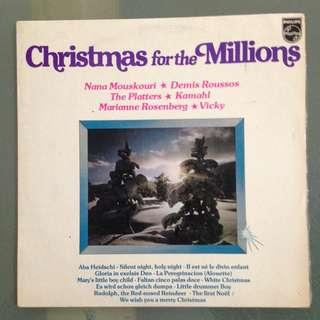 Lp Christmas for the Millions (vinyl record)