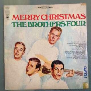 Lp Christmas (The Brothers Four) vinyl record