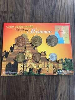 E155 - Myanmar Coin Set