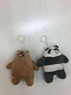 🚚 熊熊遇見你 咱們裸熊娃娃