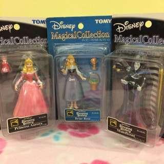 迪士尼 睡美人 3款合售
