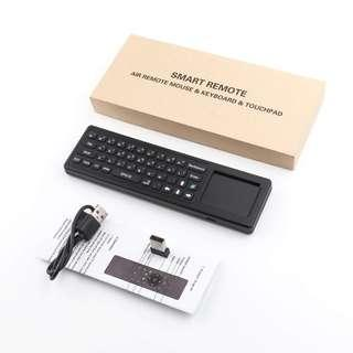 2.4G smart remote air mouse & keyboard