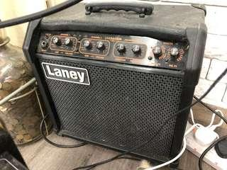 Laney effect guitar amp