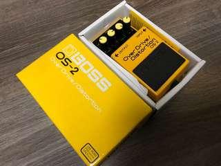 Overdrive/Distortion OS-2 Effect