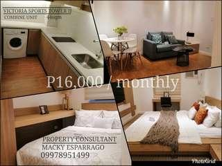 P16,000 Monthly for 2BR Rent to own unit / Few units left