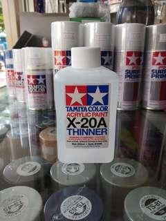 Tamiya X-20A Acrylic Paint Thinner (250ml)
