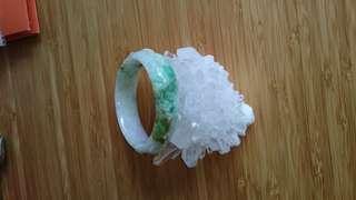 Real old jade bracelet/ 真舊玉手鐲