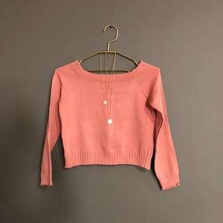 Knitted Top (Blush)