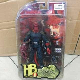 mezco wounded hellboy