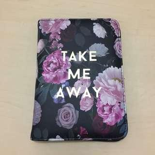 Passport case TYPO flowery