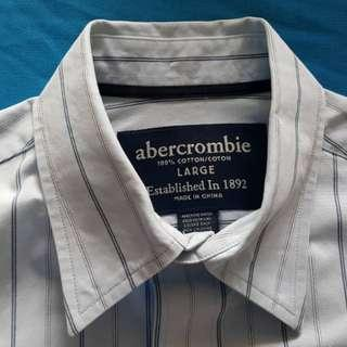 ABERCROMBIE & FITCH LADIES LONG SLEEVE SHIRT BRANDED