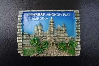 FRIDGE MAGNET CAMBODIA