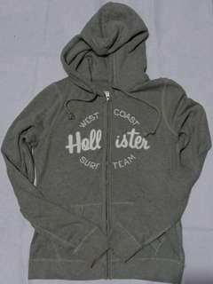 HOLLISTER Zip Up Grey Hoodie