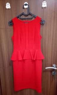 Dress INVIO red