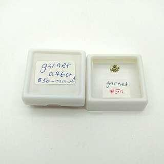 Mali Garnet gem specimen