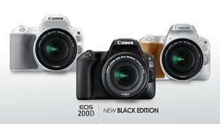 Kredit kamera dslr canon 200D, promo gratis 1x cicilan