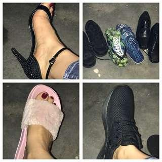 Mixed shoes