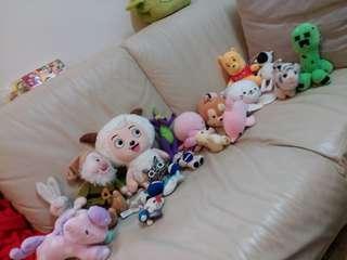 玩具公仔20個