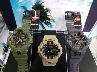 """GA-700UC-3A, GA-700UC-5A, GA-700UC-8A卡西歐品牌手錶""""Casio""""""""G-Shock""""日本機芯一年保養"""