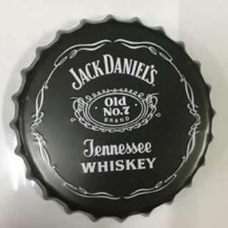 Bottle Cap Retro Metal Tin Sign Plaque Vintage Jack Daniels
