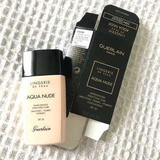 Guerlain Lingerie Aqua Nude Foundation
