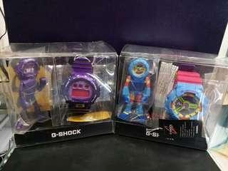 """GA-110F-2, DW-6900SW-6卡西歐品牌手錶""""Casio""""""""G-Shock""""日本機芯一年保養"""