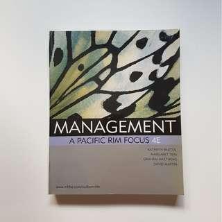 MANAGEMENT:  A PACIFIC RIM FOCUS  (4TH EDITION)