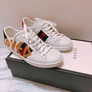 Gucci Loved 紅藍 波鞋 sneaker