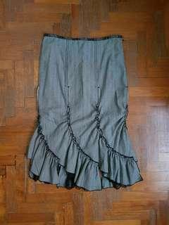 Marella Midi Flamenco-Style Skirt