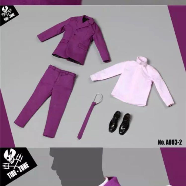 1/6 紫色西裝套裝 (Joker,小丑)