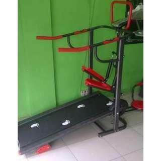 Treadmill Elektrik Manual Multifungsi TL 003 Tanpa Massager