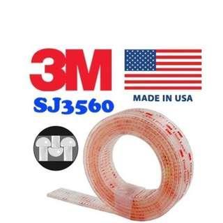3M Dual Lock Reclosable Fastener SJ3560 250 Clear