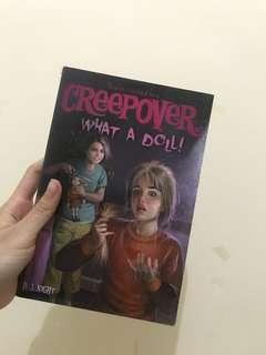 creepover - what a doll (bahasa inggris)