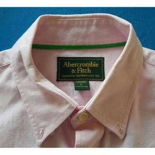 ABERCROMBIE & FITCH LONG SLEEVE SHIRT BRANDED