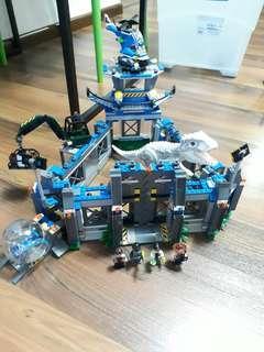 Lego Indominus Rex Breakout