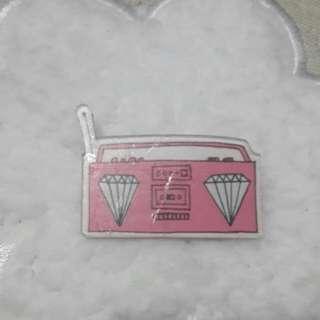 90's Acrylic Pin